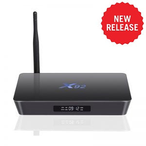 X92 4K Android TV Box 3GB/32GB (Octa Core - Top of the range!) - Android 7.1