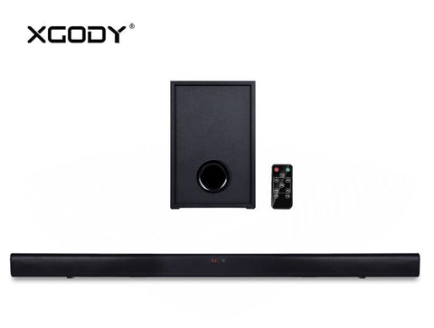 XGody S-E018 Bluetooth Soundbar Speaker and Subwoofer For TV