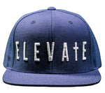 NAVY BLUE ELEVATE SNAPBACK