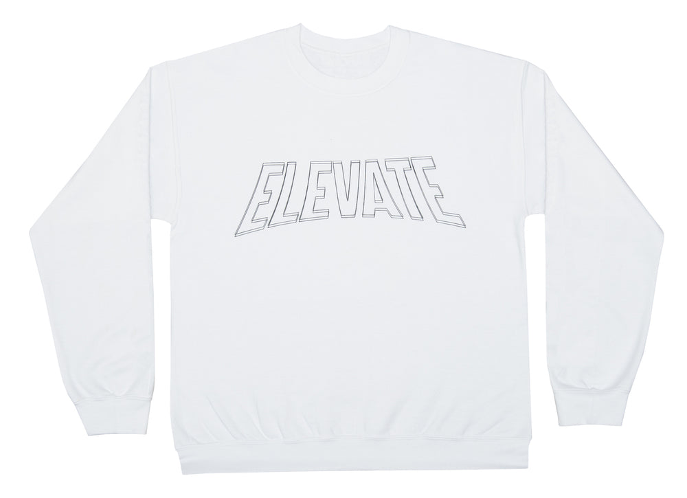 Long Sleeve Nucleus Tee - White/Black