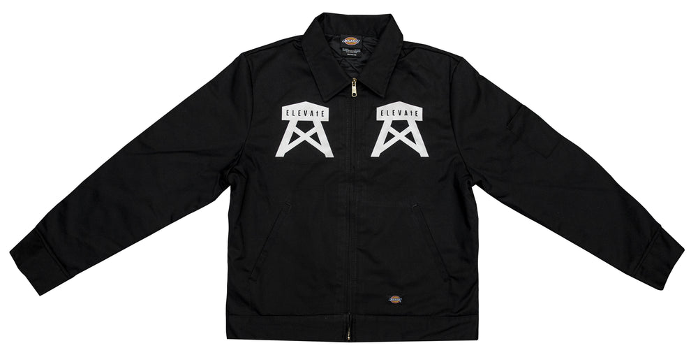 ELEVATE Gassed Up Jacket - Black/White