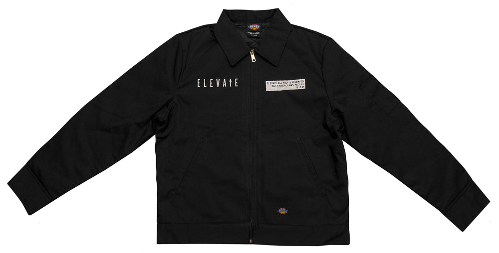 ELEVATE Our Rights Jacket - Black/White
