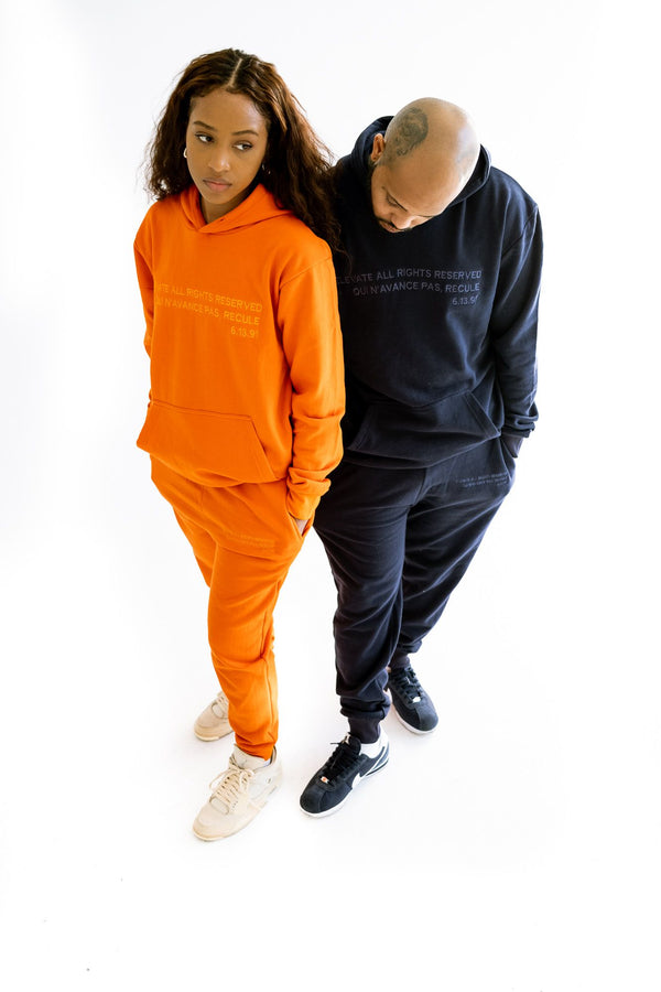 ELEVATE ALL RIGHTS RESERVED SWEAT SUIT