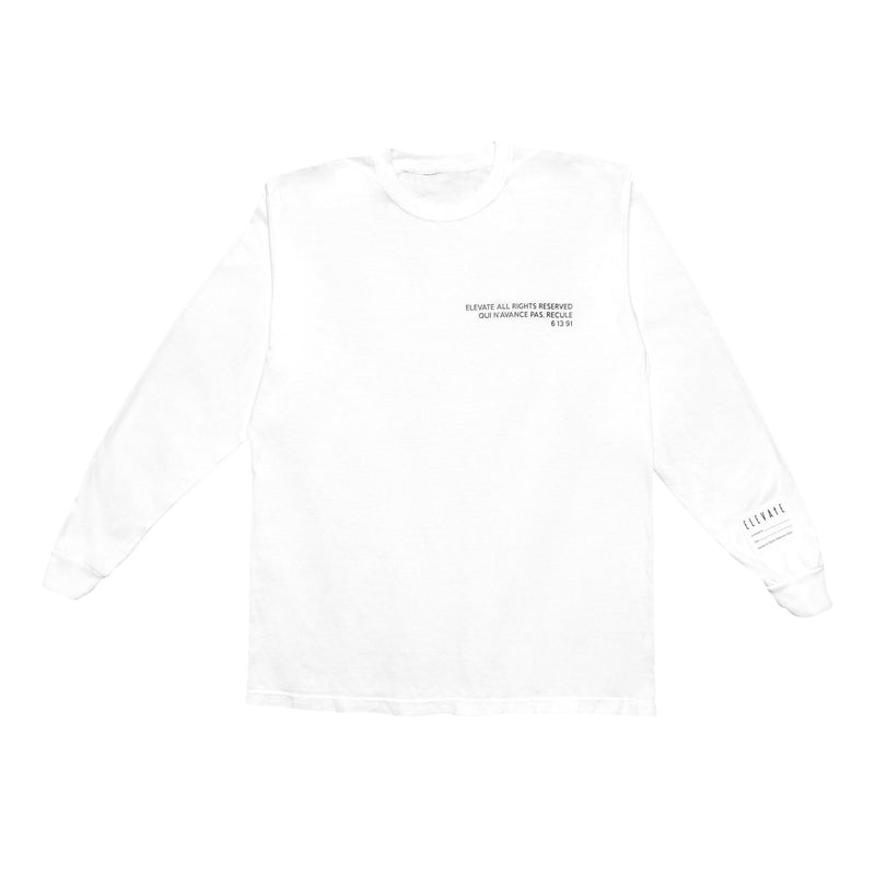 All Rights Reserved Long Sleeve Tee