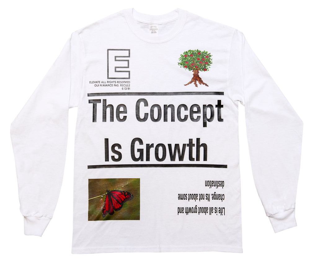 Long Sleeve Concept - White