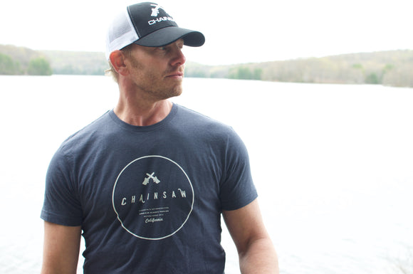 Chainsaw Brands Signature Baseball Cap as worn by founder Ian Ziering