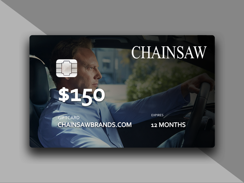 The Chainsaw Gift Card