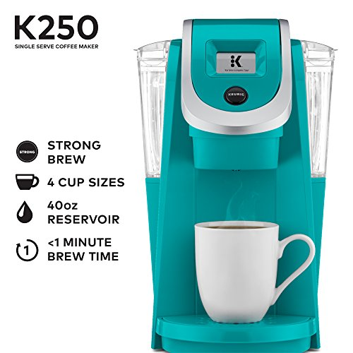 Keurig Turquoise Programmable Single K Cup Coffee Maker Amazon