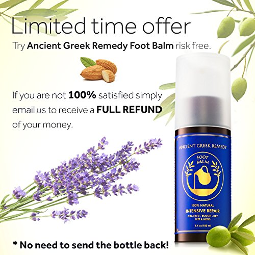 100% Organic Therapy Foot butter Balm treatment to heal, repair, Smooth,  soften dry cracked peel callus skin on feet  Natural heels cream  Moisturizer