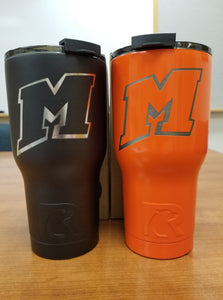 Now selling tumblers at basketball games in Mishicot!