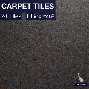 6m² Box of TH01 Premium Carpet Tiles - Perfect for Commercial & Domestic use