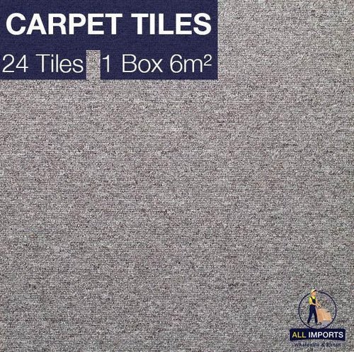 6m² Box of TH02 Premium Carpet Tiles - Perfect for Commercial & Domestic use