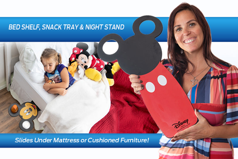 Disney-Themed Portable Nightstand & Snack Tray ALL-IN-ONE!