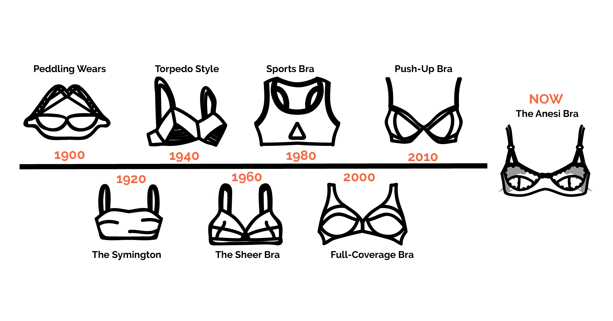 The Evolution of Bras