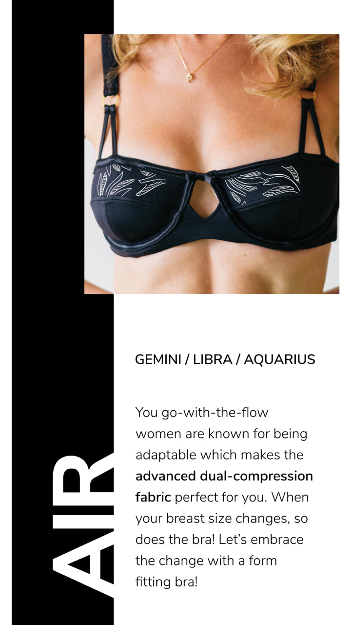 gemini/libra/aquarius bra feature