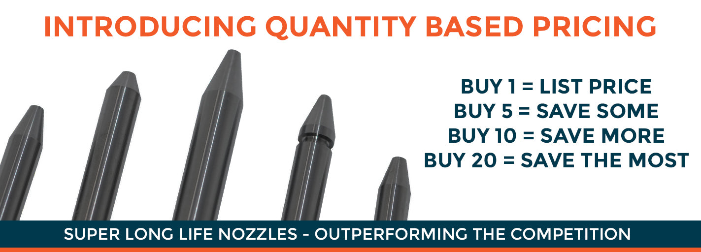 Hennco Waterjet Supply - Waterjet Nozzles, Orifices, Pump Parts