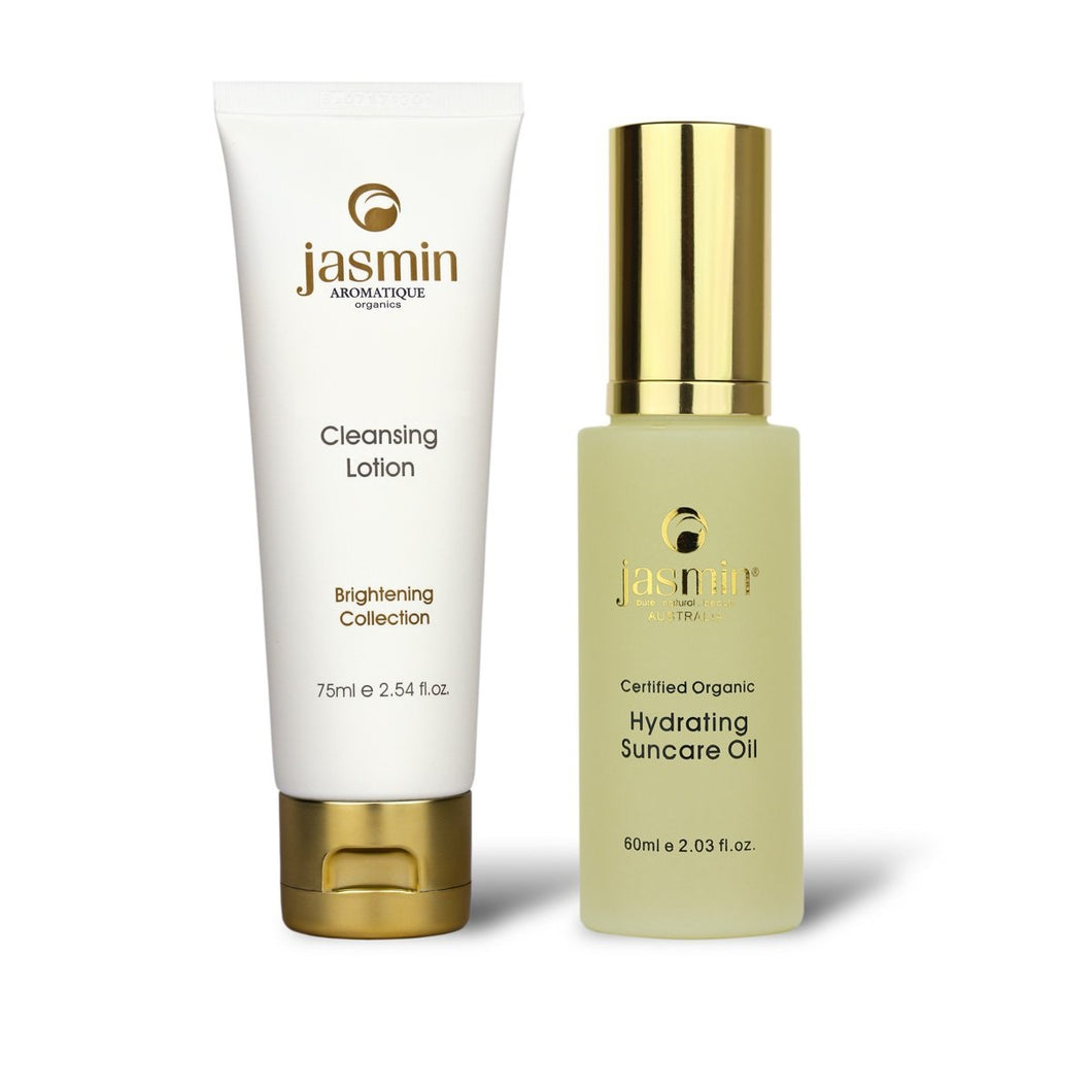 Hydrating Suncare Oil & Gentle Cleansing Lotion