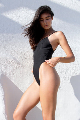 LOGAN ONE PIECE - WHITE RIB