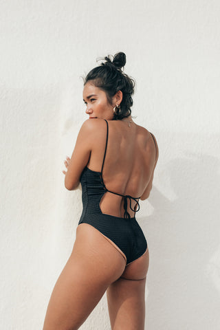 CARTER BODYSUIT - RUST SECOND SKIN