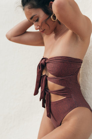 CARTER ONE PIECE - NUDE RIB
