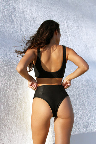 OLSEN BOTTOM - WHITE RIB