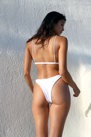 CARTER ONE PIECE - WHITE RIB