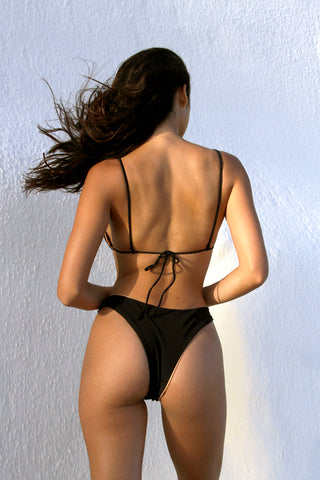 OLSEN BOTTOM - BLACK RIB