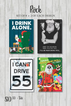 Classic Rock Holiday Card Pack (Series 2)