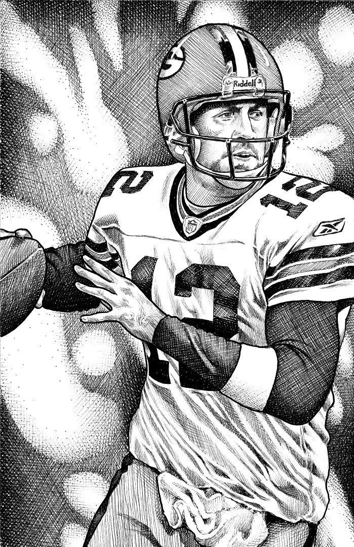 "Aaron Rodgers Stainless Steel Wrap (8""x10"")"