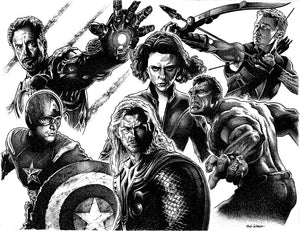 "The Avengers Stainless Steel Wrap (8""x10"")"