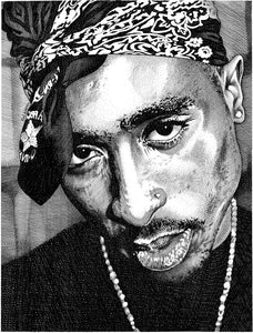 "Tupac Stainless Steel Wrap (8""x10"")"