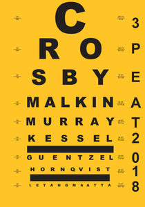 2018 PENGUINS EYE CHART