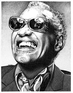 "Ray Charles Stainless Steel Wrap (8""x10"")"
