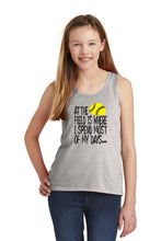 At The Field Softball Tank Tops