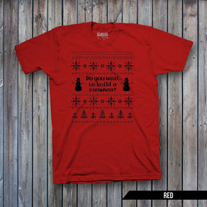 Do you want to build a Snowman Ugly Sweater (BLACK IMPRINT)