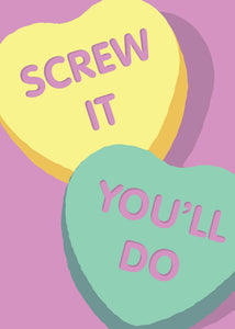 Valentine's Day Card - Screw It