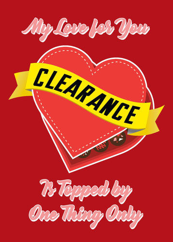 Valentine's Day Card - Clearance