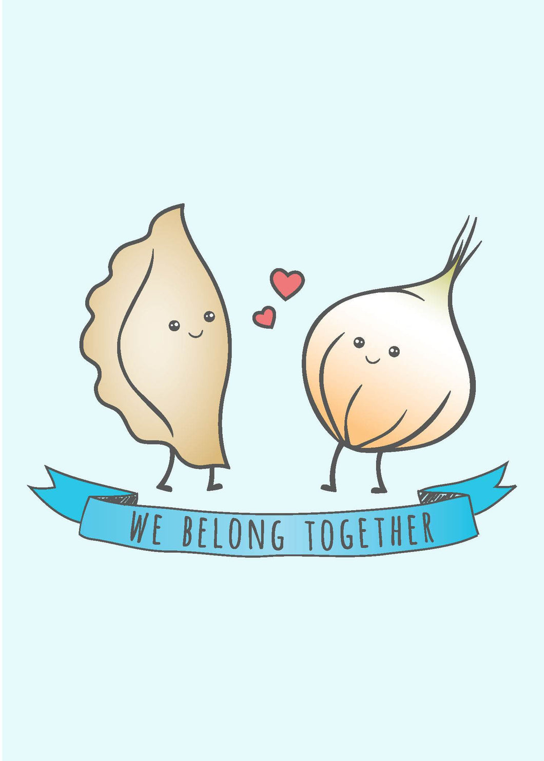Valentine's Day Card - We Belong Togther
