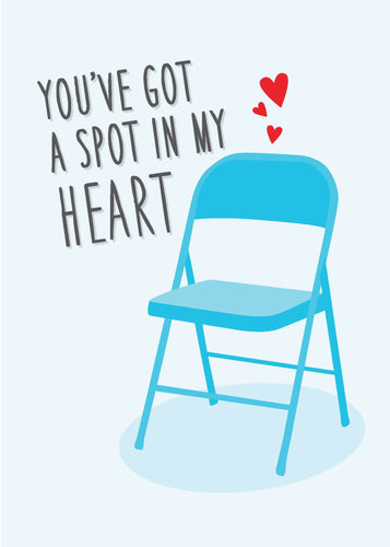 Valentine's Day Card - A Spot in My Heart