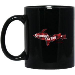 11 oz. Black Logo Mug