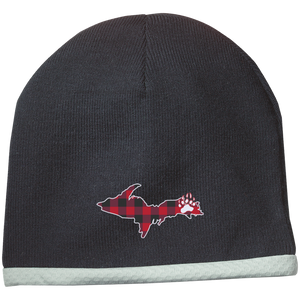 Sport-Tek Performance Logo Knit Cap