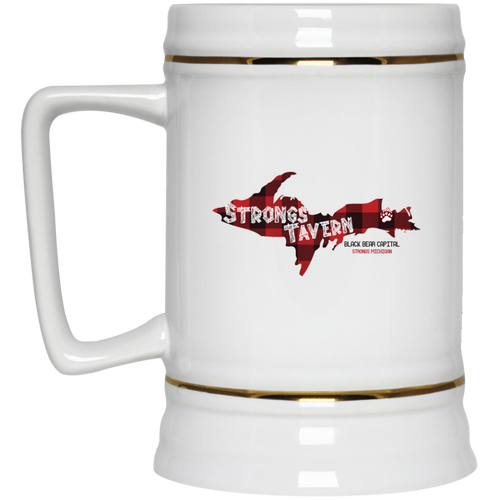 22oz. Logo Beer Stein