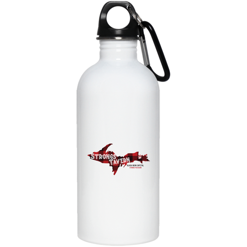 20 oz. Stainless Steel Logo Water Bottle