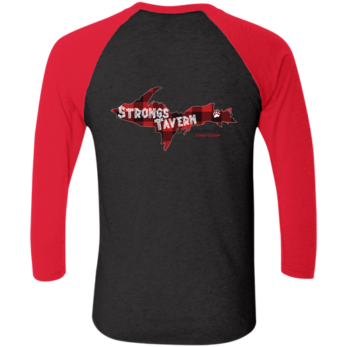 Next Level Tri-Blend 3/4 Sleeve Logo T-Shirt