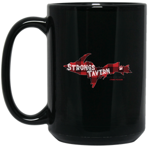 15 oz. Black Logo Mug