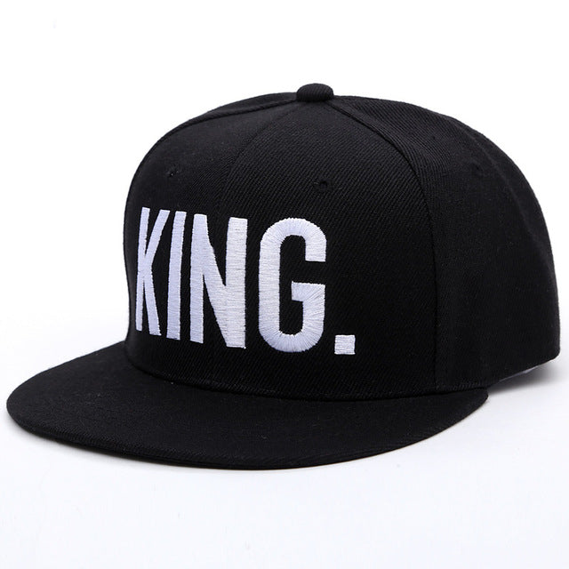 Her King His Queen Snapback