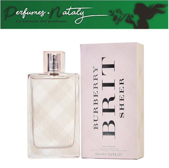 BURBERRY BRIT SHEER DAMA 100 ML (BURBERRY)