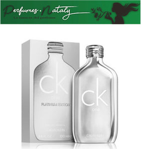 CK ONE PLATINUM EDITION 100 ML (CALVIN KLEIN)