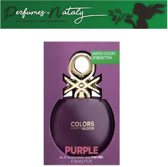 COLORS PURPLE BLOCKS DE BENETTON 80 ML (BENETTON)