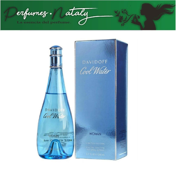 COOL WATER DAMA DAVIDOFF 200 ML (DAVIDOFF)